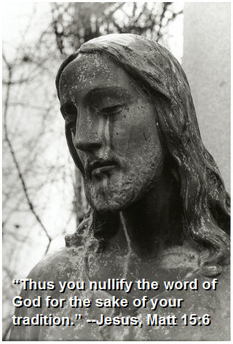 nullify the word of god